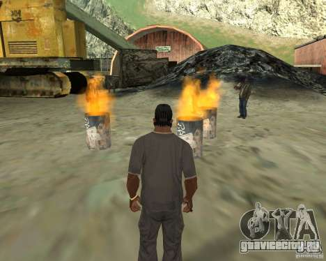 Гулянка бомжей для GTA San Andreas пятый скриншот