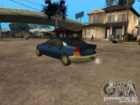 HD Kuruma для GTA San Andreas вид слева