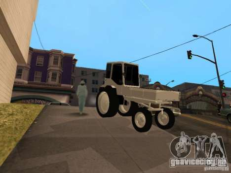Трактор Т16М для GTA San Andreas вид слева