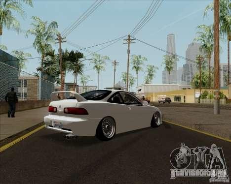 Acura Integra для GTA San Andreas вид сзади слева