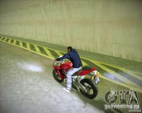 Honda CBR600RR 2005 для GTA San Andreas вид слева