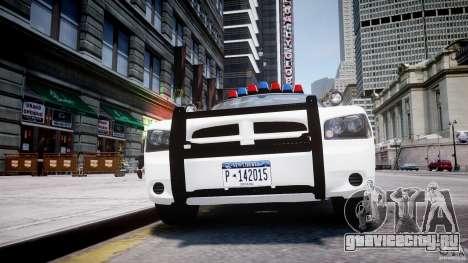 Dodge Charger FBI Police для GTA 4 салон