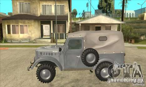 ARO M461 для GTA San Andreas вид слева