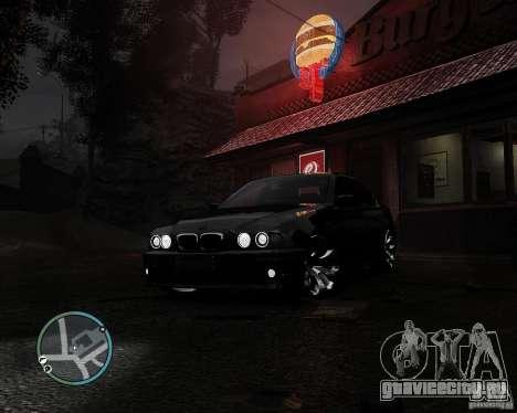 BMW 530I E39 [Final] для GTA 4 вид изнутри