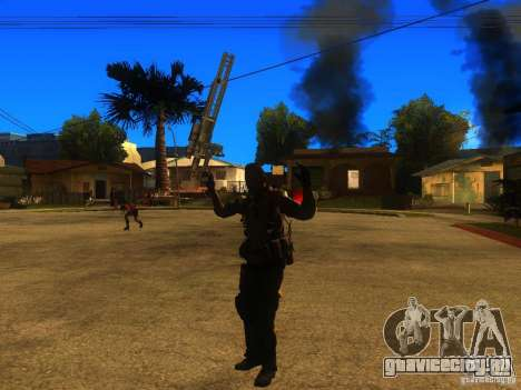 Animation Mod для GTA San Andreas восьмой скриншот