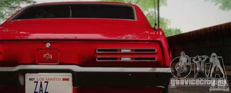 Pontiac Firebird 400 (2337) 1968 для GTA San Andreas вид слева
