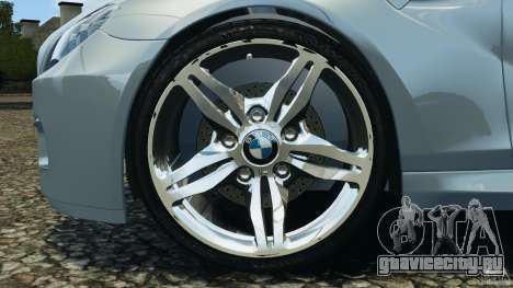 BMW M6 Coupe F12 2013 v1.0 для GTA 4 вид сзади
