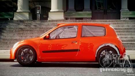 Renault Clio Sport для GTA 4 вид слева