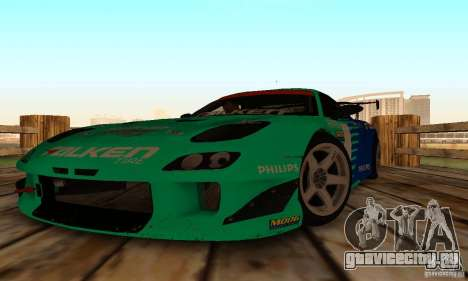 Mazda RX7 Falken edition для GTA San Andreas вид сзади