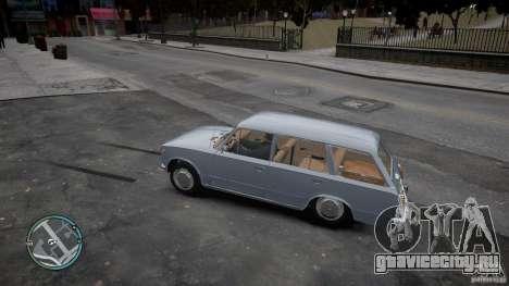 ВАЗ 2102 для GTA 4 вид сзади