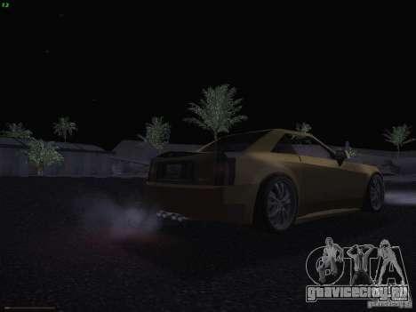 Cadillac XLR 2006 для GTA San Andreas вид снизу