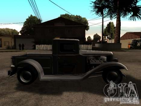 Ford Farmtruck для GTA San Andreas вид справа