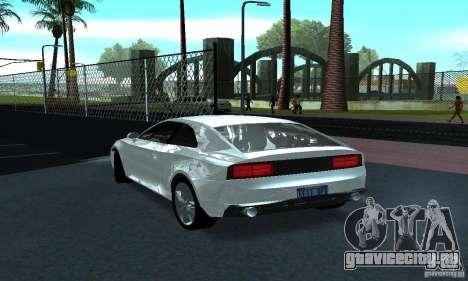 Audi Quattro Concept 2013 для GTA San Andreas вид справа