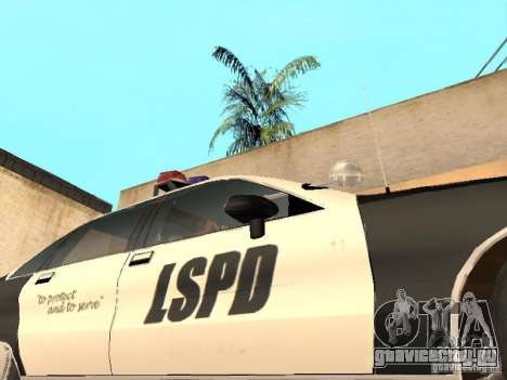 Chevrolet Caprice 1991 LSPD для GTA San Andreas вид сбоку