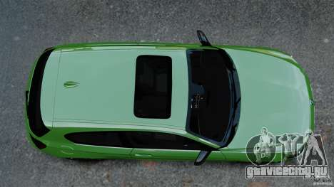 BMW M135i 2013 для GTA 4 вид справа