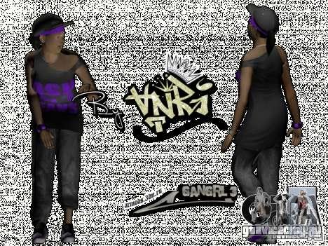 Ballas Gang для GTA San Andreas четвёртый скриншот