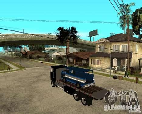 Peterbilt для GTA San Andreas вид слева