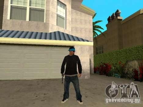 Black Rifa SkinPack для GTA San Andreas третий скриншот