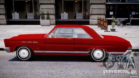 Ford Mercury Comet 1965 для GTA 4 вид сзади слева