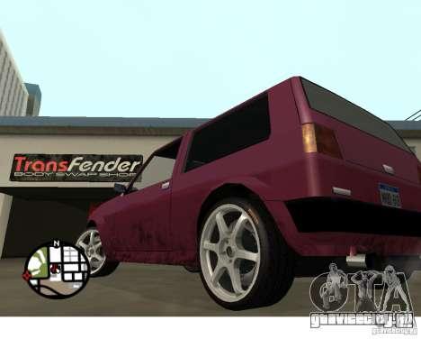 Колёса из игры Juiced 2 Pack 1 для GTA San Andreas