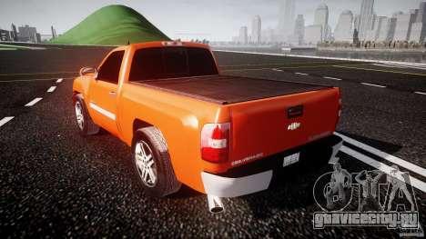 Chevrolet Silverado 2011 для GTA 4 вид сзади слева
