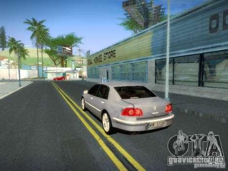 Volkswagen Phaeton W12 для GTA San Andreas вид изнутри