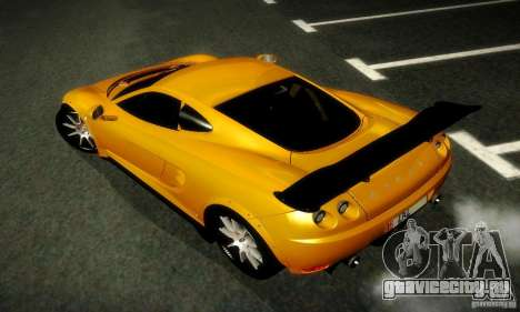 Ascari KZ1R Limited Edition для GTA San Andreas вид сзади