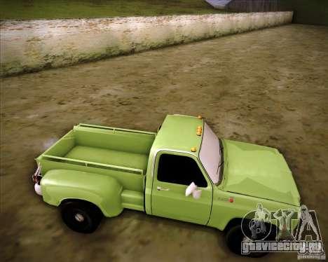 GMC 80 для GTA San Andreas вид справа