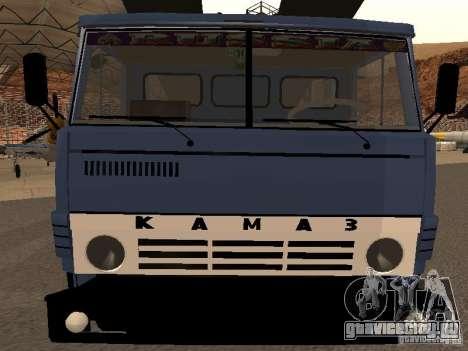 КамАЗ автовоз для GTA San Andreas вид справа