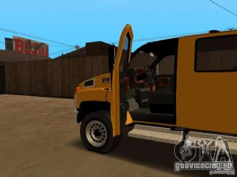 GMC TopKick для GTA San Andreas вид сбоку