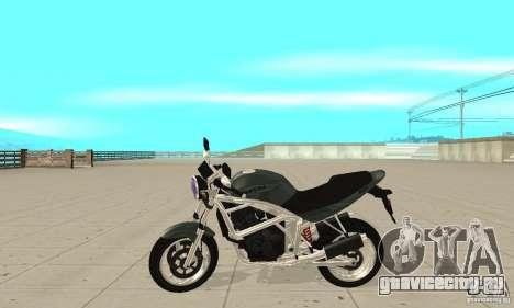GTAIV PCJ600 FINAL для GTA San Andreas вид слева