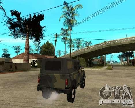 УАЗ 3172 для GTA San Andreas вид сзади слева