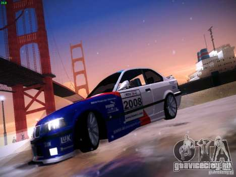 BMW M3 E36 320i Tunable для GTA San Andreas вид сбоку