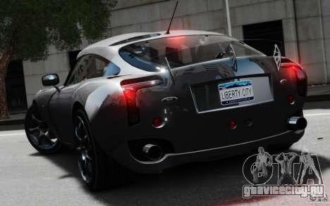 TVR Sagaris MKII v1.0 для GTA 4 вид слева