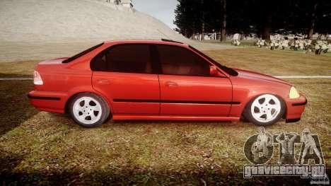 Honda Civic Vti для GTA 4 вид изнутри