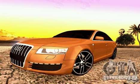 Audi A6 Blackstar для GTA San Andreas вид слева