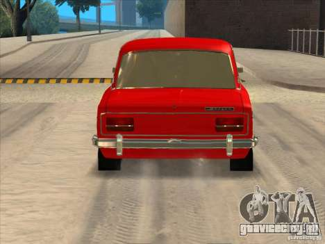 ВАЗ 2103 Resto style для GTA San Andreas вид сзади слева