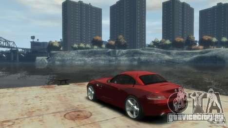 BMW Z4 для GTA 4 вид слева