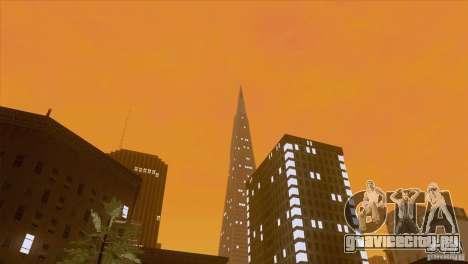 BM Timecyc v1.1 Real Sky для GTA San Andreas шестой скриншот