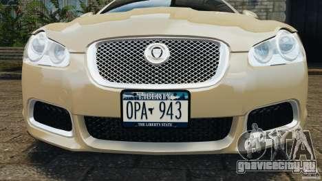 Jaguar XFR 2010 v2.0 для GTA 4 колёса