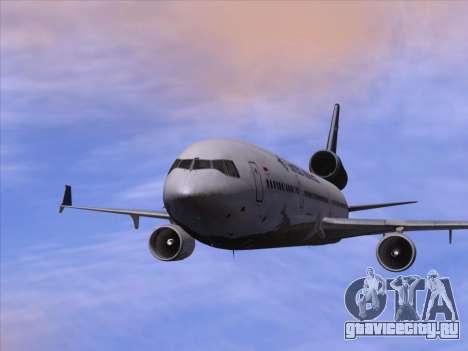 McDonnell Douglas MD-11 Garuda Indonesia для GTA San Andreas вид снизу