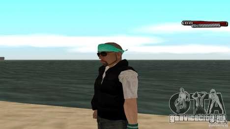 Skin Pack The Rifa Gang HD для GTA San Andreas восьмой скриншот