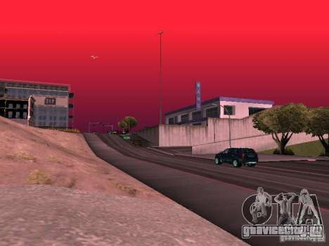 Weather manager для GTA San Andreas десятый скриншот