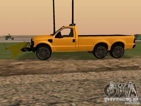 Ford Super Duty F-series для GTA San Andreas вид слева