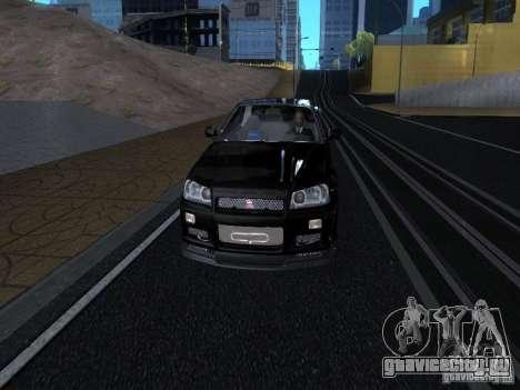 ENBSeries от Rinzler для GTA San Andreas одинадцатый скриншот