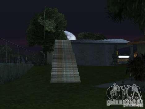 Новый Grove Street для GTA San Andreas седьмой скриншот