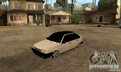 Lada ВАЗ 2109 АК-47 для GTA San Andreas