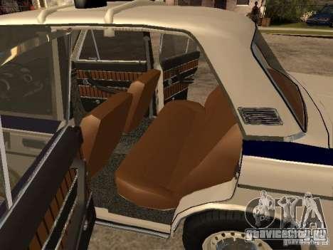 Ваз 2103 Милиция для GTA San Andreas вид сзади