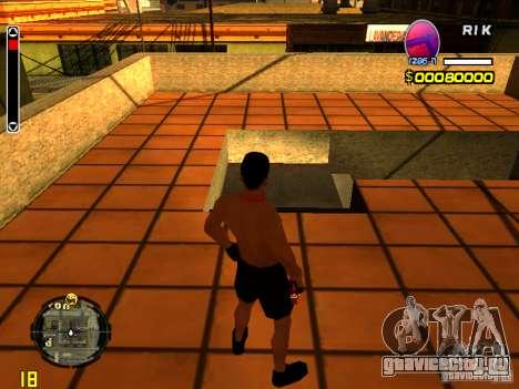 Скин пляжного человека для GTA San Andreas второй скриншот