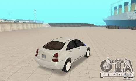 Nissan Primera для GTA San Andreas вид слева